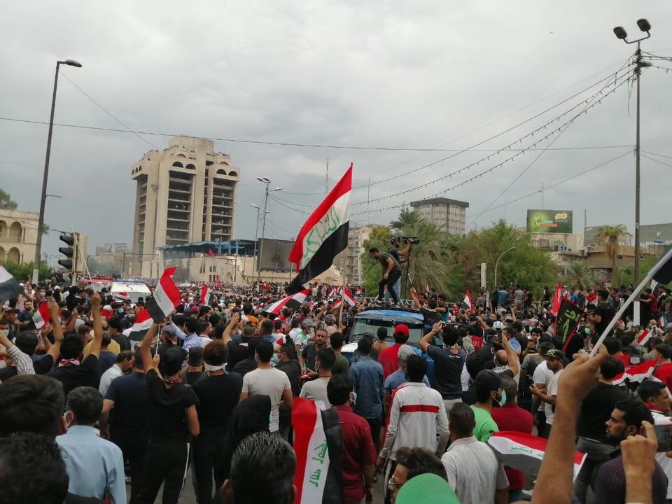 Why are Iraqis protesting?